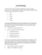 Chapter Four Practice Problems 1