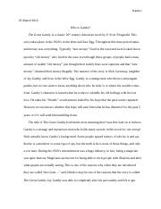 Gatsby analyzation rough draft final