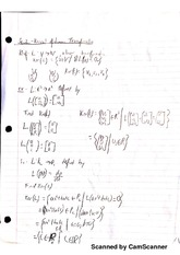 Notes on Kernal of Linear Transfomation