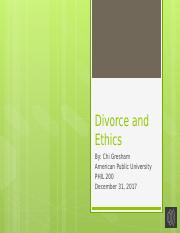 Divorce and Ethics.pptx