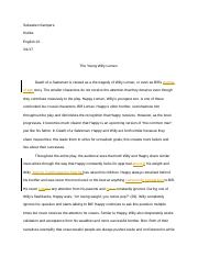 Death of a Saleman Essay.docx