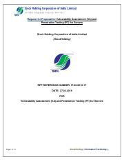 RFP for Vulnerability Assessment and Penetration Testing for Servers.pdf