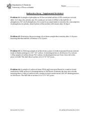 radio - CH302 LaBrake and Vanden Bout Radioactive Decay Problem#1 ...