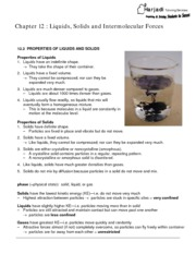 Chapter12 Liquids Solids and Intermolecular fORCES