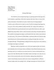arranged marriage research paper.docx