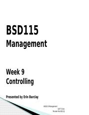 Lecture 9_Controlling_BSD115