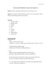 calorimetry prelab Chemistry 1 – calorimetry lab name.