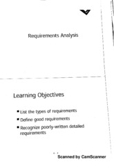 CE 422 Requirement Analysis