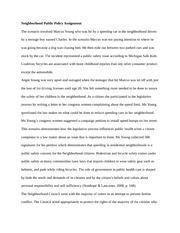 Epidemiology essay