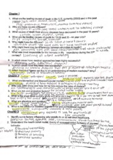 Health Psych Class Notes  7