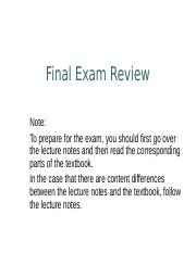 Final Exam Review.ppt