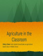 AG in Classroom.pptx