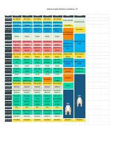 Modelo De Cronograma De Estudos Do Curso Enem Noite 2017