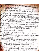 CJC 319 Class Notes- Social Learning Theory