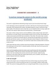 Chemistry Assignment - 2.docx
