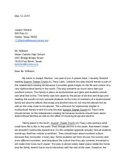 3 Letter to english department - Google Docs