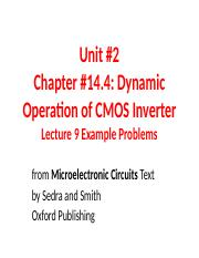 Unit 2 Examples for Lecture 9.ppt
