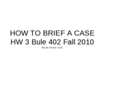 fall 2010 bule 402 case brief assignment