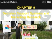 Chapter 9_Decision Support Systems and Marketing Research