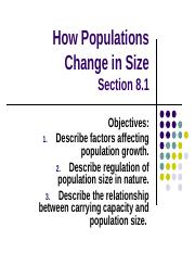 How Populations Change in Size (Section 8.1).ppt