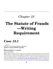an analysis of the statute of frauds in a law case § 1001 - statements or entries generally § 1002 - possession of false papers to defraud united states § 1003 - demands against the united states.