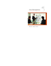 cost management a strategic emphasis solutions blocher Cost management: a strategic emphasis 7th edition by edward blocher and publisher mcgraw-hill higher education save up to 80% by choosing the etextbook option for.