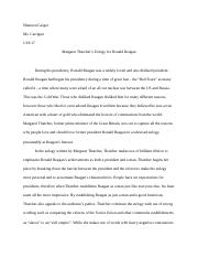 Samples Of Persuasive Essays For High School Students Other Related Materials Example Of Essay Writing In English also Compare And Contrast High School And College Essay Margaret Thatcher Eulogy Essay  Jake Heckert Mrs Kokan Ap English  What Is The Thesis In An Essay