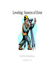 Course06-Leveling Sources of error-jack.ppt