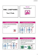 5. Ionic Compounds