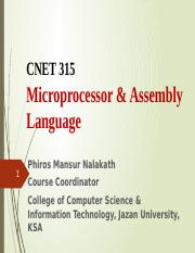 Chapter 5  Introduction to Microcontrollers Updated.pptx