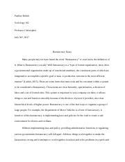social stratification analysis essay chyna sherrell soc  most popular documents for sociology 102