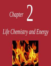 Chapter two small molecules