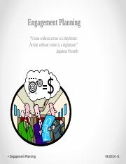 Engagement Planning.ppt