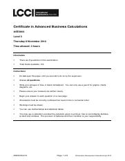 Adv Business Calculations L3 Past Paper Series 4 2012.pdf