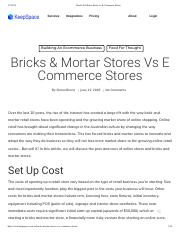 Bricks & Mortar Stores vs E Commerce Stores.pdf