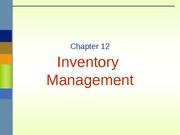 Lecture 9- GMS401_Chapter12_2014