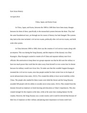 confucianism essay confucianism essay han confucianism was the  2 pages and kprea essay