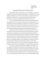 raising the red lantern reflection essay