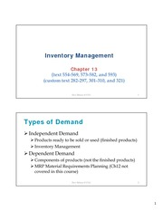LCVS Ch13 Inventory Management Handout(2)