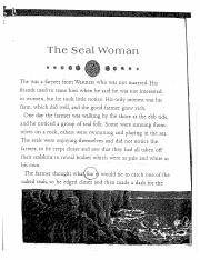 Psy 3071 seal story for application for chapter 3 Gender Stereotypes (1)
