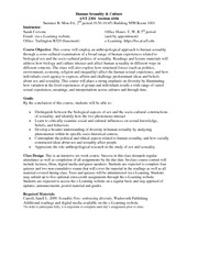 Uf human sexuality and culture syllabus