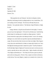 final portfolio reflective essay cover letter   Nicholas Gomez     Lolita Quierete Mucho Screen Shot            at         PM