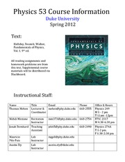 PHY53_Spring2012_Info