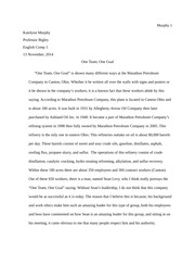 English Comp Essay on Subcultures