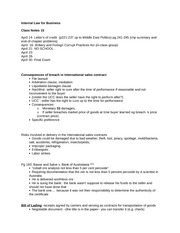 Internal Law for Business notes 14