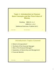 Topic1_TimeValueofMoney