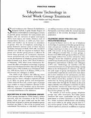 1 Telephone Technology in Social Work Group Treatment..pdf