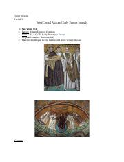 West_Central Asia and Early Europe Artwork Journals
