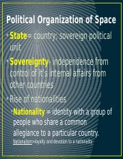 Topic 4 Political Organization of Space.pptx