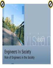 Chapter 3 Role of Engineers in the Society